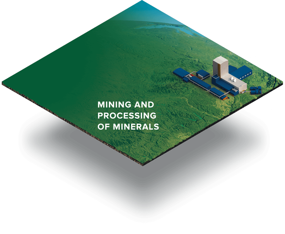 ДMining and processing of minerals